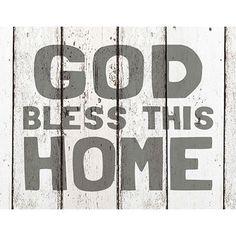 Light Box Insert - God Bless This Home – ChristianGiftsPlace.com Online Store