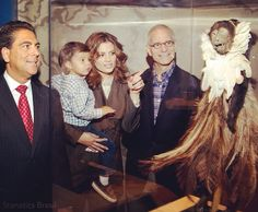"""""""Mummies of the world"""" donation to the @childrensla in 2010"""