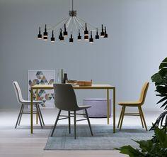 Minimalistischer Design Esstisch Filo Von Novamobili Ist Besonders Grazil  Und Elegant. #tisch #stuhl