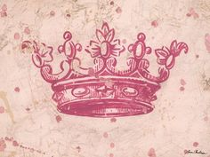 """Vintage Crown"" - Canvas Wall Art from Oopsy daisy, Fine Art for Kids"