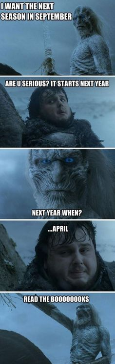 Funny pictures about Game Of Thrones' next season. Oh, and cool pics about Game Of Thrones' next season. Also, Game Of Thrones' next season photos. Game Of Thrones Pictures, Game Of Thrones Funny, Valar Dohaeris, Valar Morghulis, Winter Is Here, Winter Is Coming, My Sun And Stars, Iron Throne, Jokes