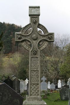 Celtic cross tombstone inspiration