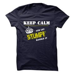 If youre a STUMPF, then this is for you! Let people know that whatever the problem that arises, there is no need to stress, you can handle it.