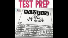 Grade Science Test Prep: Nature of Science, Earth, Life, Physical Science Teaching 5th Grade, 3rd Grade Classroom, 5th Grade Science, Elementary Science, Teaching Reading, Teaching Math, Elementary Teaching, Upper Elementary, Teaching Resources