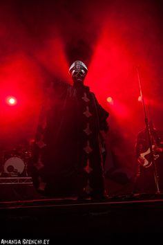 Papa Emeritus II / Ghost live at Big Day Out @ Metricon Stadium, Gold Coast 19/01/2014 | Metal Obsession