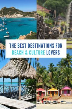 The Perfect Mix: These Travel Destinations are great for Beach and Culture Lovers alike. Relax on the beach and explore historic sites and cultural events. Europe Travel Tips, Places To Travel, Travel Advice, Travel Packing, Budget Travel, Travel Guides, Packing Hacks, Shopping Travel, Travel Plan