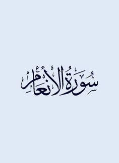 سورة الأنعام / قراءة : ماهر المعيقلي
