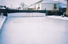 Bon Backyard Ice Rink Tips. How To Build A Backyard Hockey Rink