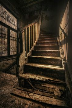 Stairs Steps Abandoned On Pinterest Abandoned Spiral