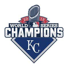 2015 MLB World Series Champions Kansas City Royals Collectors Pin