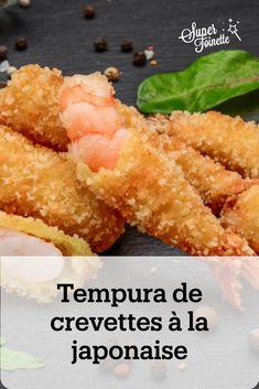 Régalez-vous avec cette délicieuse recette japonaise de tempura de crevettes. Des crevettes croustillantes, idéales pour l'apéritif.🍤 Food Inspiration, Deserts, Meals, Cooking, Ethnic Recipes, Recipes, Drizzle Cake, Stuff Stuff, Shrimp