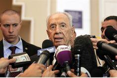 Peres Lauds Arab Initiative