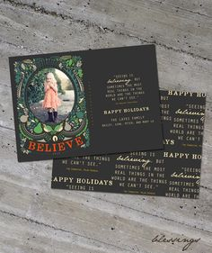 Believing - Holiday Card