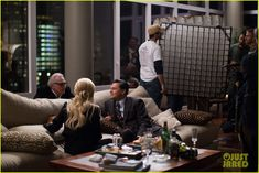 the wolf of wall street behind the scenes | ... Gets Direction in Behind the Scenes Photos from 'Wolf of Wall Street