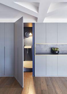Ideas for hidden door design Wardrobe Design, Built In Wardrobe, Küchen Design, Door Design, Home Interior Design, Interior Architecture, Ideas Armario, Built In Furniture, Bedroom Furniture