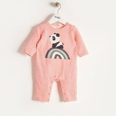 0ed018830 RAFFA - Baby Girl Knitted Tiger Sweater - Sorbet  thebonniemob  aw17 ...