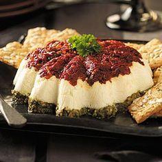 Tomato-Walnut Pesto Spread Recipe | Taste of Home Recipes
