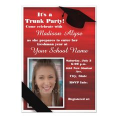 How to Word a Trunk Party Invitation Trunk party Party