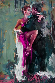 Tango 6 Painting by Mahnoor Shah