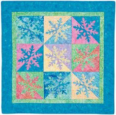 snowflake patterns to print | the Ohio Snowflake quilt block as a PDF to print out the pattern ...
