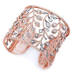 Rose Gold Diamond Cuff - Supreme Jewelry Corp. - Product Search - JCK Marketplace