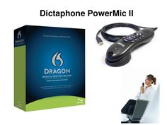 Dictaphone PowerMic II  by TheMicrophoneStore.com via Slideshare