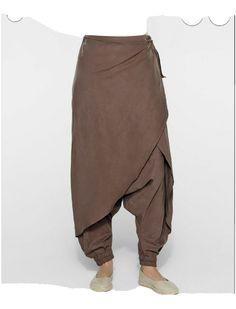 Sarah pacini linen skirt/ trousers size 1   eBay Mens Designer Shirts, Designer Clothes For Men, Skirt Pants, Harem Pants, Trousers, Pants Pattern Free, Celebrity Casual Outfits, Sarah Pacini, Linen Skirt