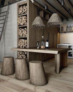 Una cabaña de ensueño en Lake Tahoe, California Decoration Design, Deco Design, Cabin Design, House Design, A Frame Cabin Plans, Tiny House Hotel, Metal Fireplace, Tiny House Nation, House Built