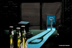 #Heineken #Ad it could only be..