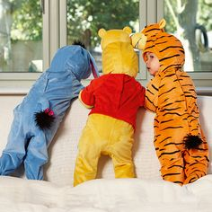 Baby Winnie the Pooh Plush Fancy Dress Costume 2