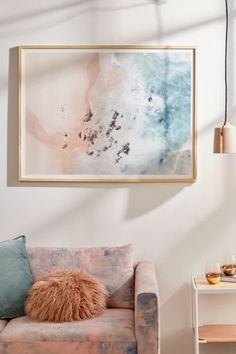 Ingrid Beddoes Sea Bliss Art Print for powder room Living Room Decor On A Budget, Apartment Decorating On A Budget, Interior Decorating, Budget Bedroom, Decorating Tips, Tumblr Room Decor, Diy Room Decor, Home Decor, Travel Room Decor