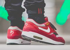 Nike Air Max 1 'Urawa Dragon' (by Marvin... – Sweetsoles – Sneakers, kicks and trainers. On feet.