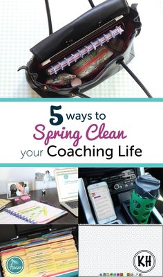 Elevate Your Sessions- 5 Day Challenge 5 Ways to Spring Clean Your Coaching Life Teacher Bags, Teacher Stuff, Reading Specialist, Instructional Coaching, Classroom Design, Professional Development, Spring Cleaning, 5 Ways, Teacher Resources