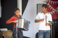 El vallenato presente en la feria regional