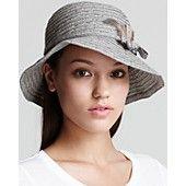 August Accessories Boho Braid Cloche Hat