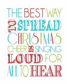 FREE Christmas Printable: Buddy the Elf quote