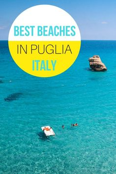 This is a guide for your vacations in Puglia, Italy. This beautiful region also known as 'Italy's bootheel' is famous for its delicious food, amazing culture, wonderful people with high sense of hospitality and a crystalline sea with some of the most beautiful beaches in Italy. So we will show you where to find the best beaches in Puglia. #pugliaitaly #visitpuglia #pugliabeaches #puglia @NomadisBeautiful