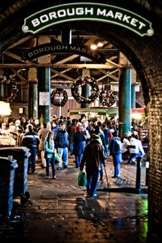 Borough Market Entrance, London