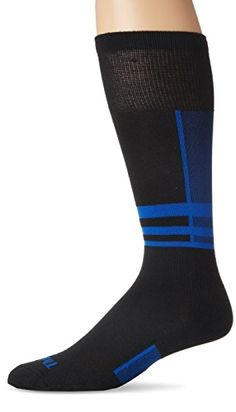 Thorlo Women's Thin Performance Ski Sock-Small-Laser Blue, #Laser Blue, Small Made by #Thorlo #Color #Laser Blue. Constructed with Thor wick fibers to enhance moisture wicking and keep feet fry and warm. Pique stitch in calf and arch and extra spandex in ankle for stretch and precise fit. Reinforced flat stitch for softness and durability. Low profile toe seam won't rub or irritate feet