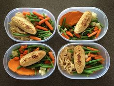 meal prepping for runners