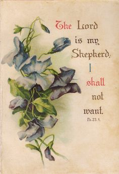 Shop Vintage Floral Prayer Scripture Quote Car Air Freshener created by ShowerOfRoses. Scripture Verses, Bible Scriptures, Bible Quotes, Godly Qoutes, Scripture Pictures, Lord Is My Shepherd, The Good Shepherd, So Love, Religious Quotes