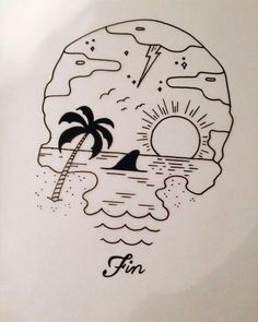 Various designs of drawings for original tattoos The templates are the origin of the tattoo, it is the preliminary drawings that carry the pre . Cool Art Drawings, Pencil Art Drawings, Easy Drawings, Drawing Sketches, Tattoo Drawings, Drawing Designs, Cool Designs To Draw, Sharpie Drawings, Pen Tattoo