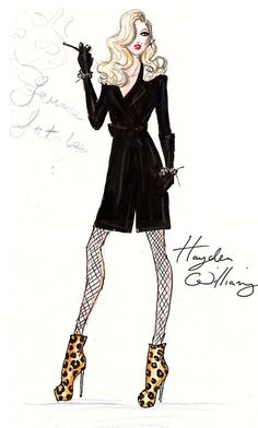 hayden williams fashion illustration - Google Search