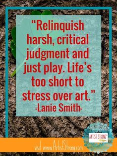 Lanie Smith has wonderful advice about facing perfectionism in your art. Art Therapy Projects, Art Therapy Activities, Purple Thoughts, Creativity Quotes, Magic Words, Teaching Art, Love Words, Art Lessons, Art Quotes