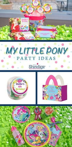 It's time to create your own sparkling version of Ponyville for a super-fun party theme. Explore all our girl birthday party ideas & save 10% promo code SZPINIT until 12/31/19 11:59 PM EST.