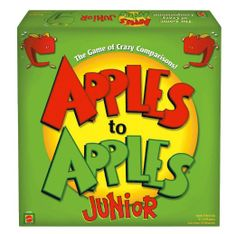 Apples to Apples Junior - The Game of Crazy Comparisons!- Great for developing a young bookworms vocabulary