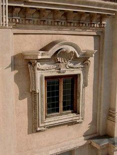 Gian Lorenzo Bernini. Iglesia de Santa María dell'Asunzione, Ariccia. Fachada  Arquitectura ...