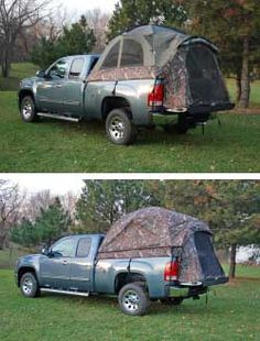 Sportz Mossy Oak Camo Pick-up Truck Tent