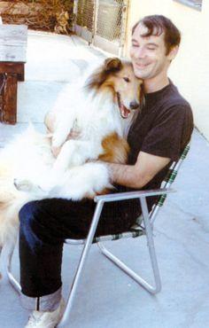 a happy john fahey + a happy collie