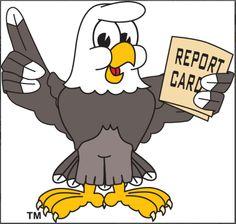 eagle school clipart | Cartoon Eagle School Mascot Clip Art ...